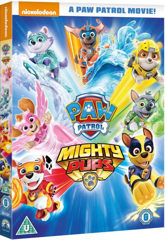 Paw Patrol Mighty Pups In 2021 Paw Patrol Paw Patrol Movie Pup