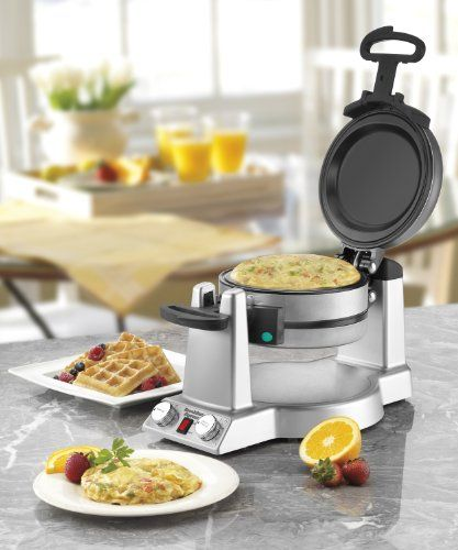 Review: Waring Belgian Waffle & Omelet Maker | Top 10 Best Waffle Makers - Ratingle.com
