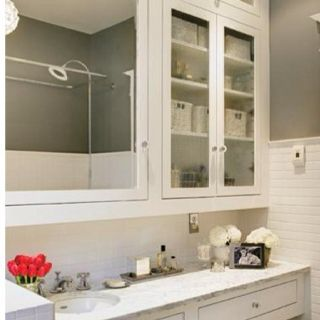 More good storage and mirror ideas