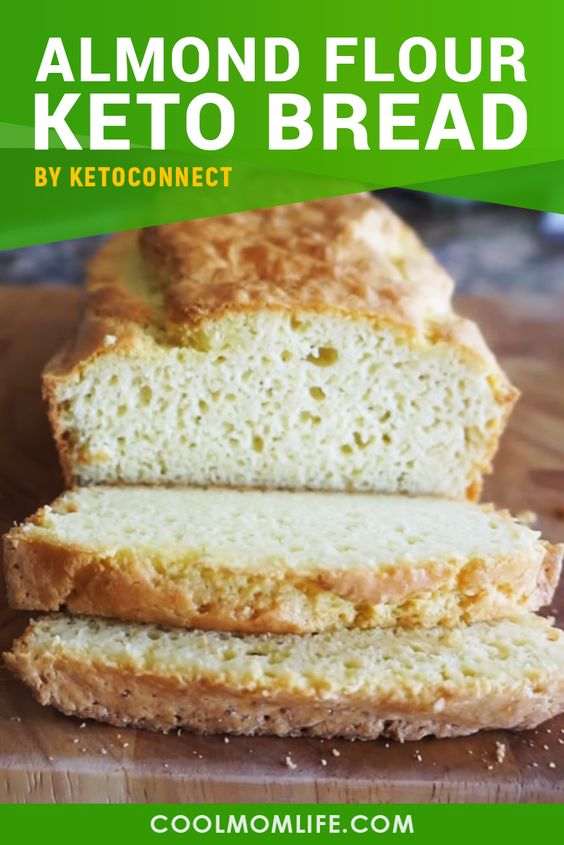 Keto bread with almond flour - Try this delicious Keto bread recipe to get a traditional bread taste with low carb recipe. This easy recipe is ideal for someone on Keto diet or low carb diet. Make this Keto bread to satisfy your hunger cravings and stay fuller for longer enjoying your favorite food.
