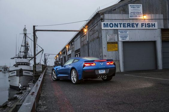 Love Monterey & Love the new 2014 Corvettes!