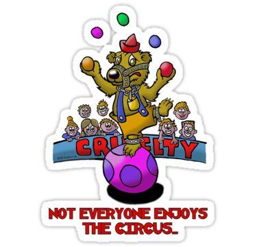 Not everyone enjoys the circus.