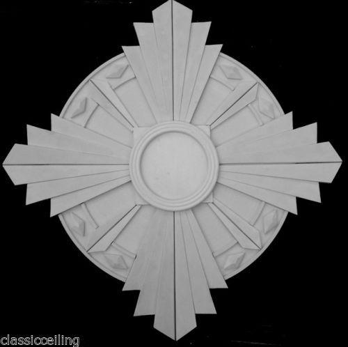 Art Deco Ceiling Medallion