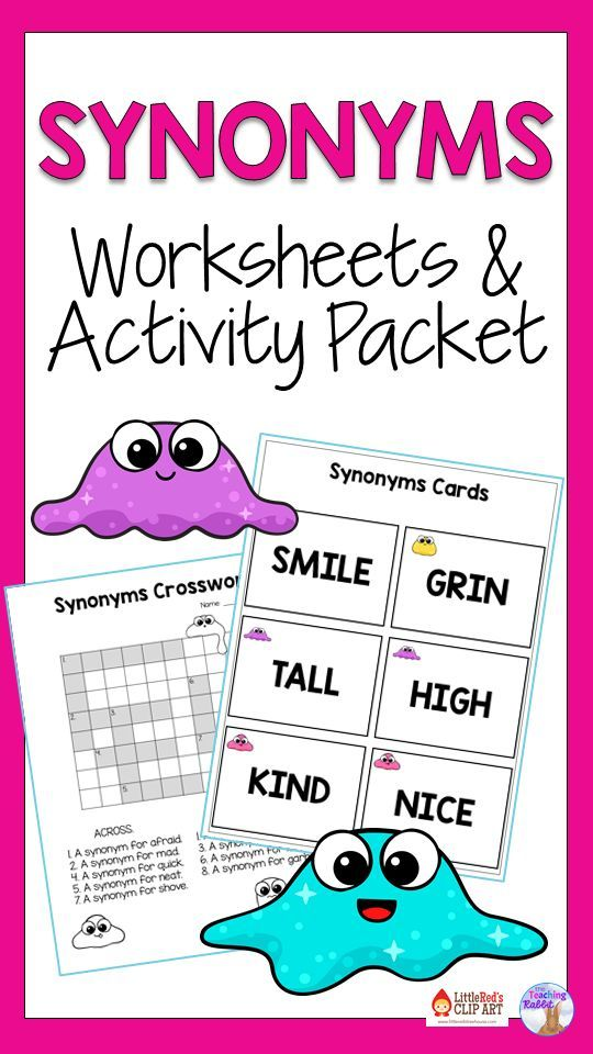 Synonyms And Antonyms Activities Teaching Synonyms Antonyms Activities Elementary Language Arts Activities