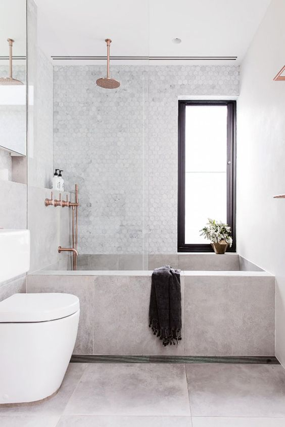 Unique Small Bathroom