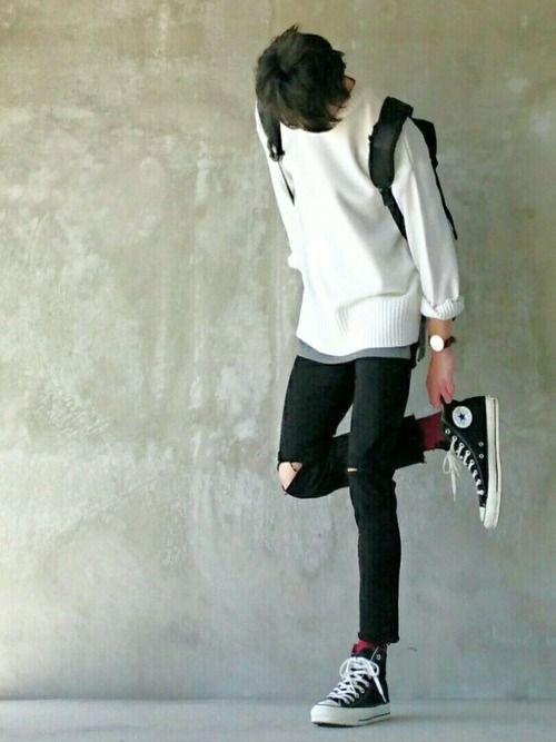 gaya pakaian korea
