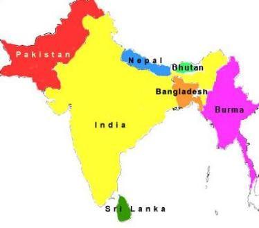 Map Of India Bangladesh Enclaves Google Search AP Human - Bangladesh map