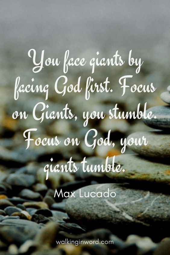 Facing your Giants by Max Lucado - A Book Review