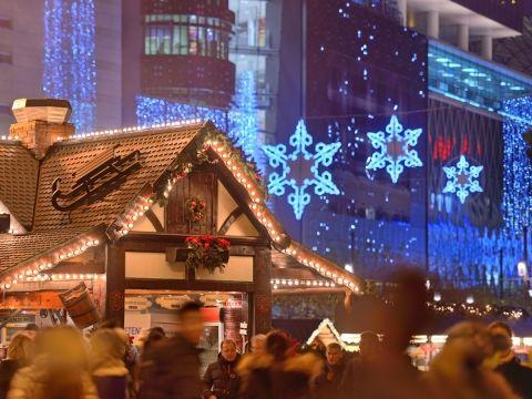 Frankfurter Weihnachtsmarkt_Hauptwache