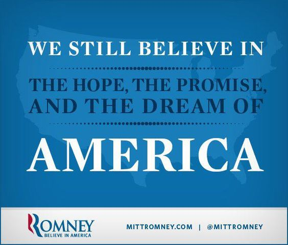 Believe in a Great Country:  Time for a REAL man in the White House!