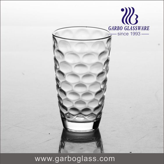 Transparent glass tumbler with high quality for home using for water drinking, eco-friendly glassware