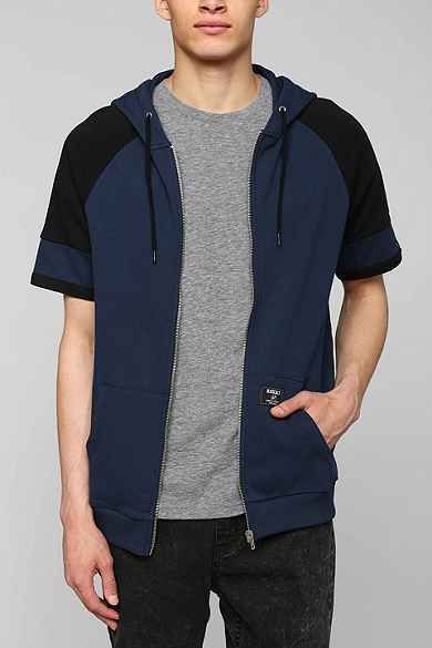 Short-Sleeve Zip-Up Hoodie Sweatshirt | Teen Boy | Pinterest ...
