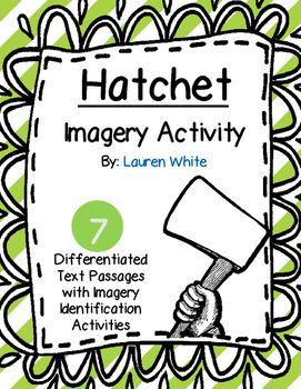 Is your class reading Hatchet by Gary Paulsen? Use this resource to help support/guide student learning about imagery. Hatchet includes a lot of visual imagery and this assignment is a great way for students to dig deeper into the novel while also practice identifying writing techniques.