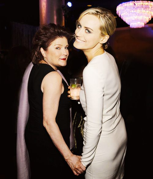 Kate Mulgrew & Taylor Schilling // 30th Annual Television Critics Association Awards // 2014