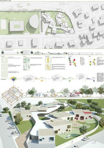 Tavola di progetto tavole di progetto pinterest - Tavole di concorso architettura ...