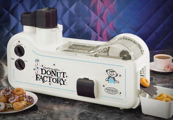 Automatic mini doughnut factory
