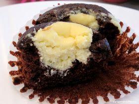 Rezepte mit Herz ♥: Double Chocolate Cheesecake Muffins a la Starbucks