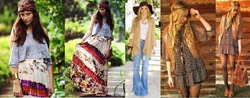 Hippie moda hippie moda anos 70 roupas anos 70 moda - Moda hippie anos 70 ...