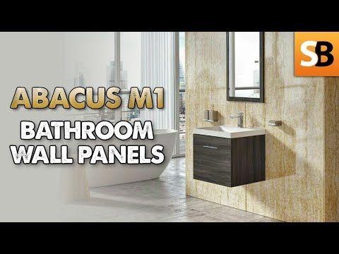Abacus M1 Pvc Waterproof Bathroom Wall Panels Youtube Bathroom Wall Panels Waterproof Bathroom Wall Panels Waterproof Wall Panels