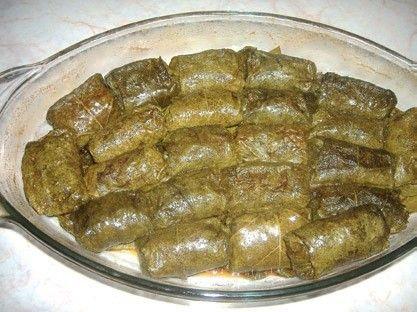 Стари рецепти из Ниша: Посне сармице од винове лозе