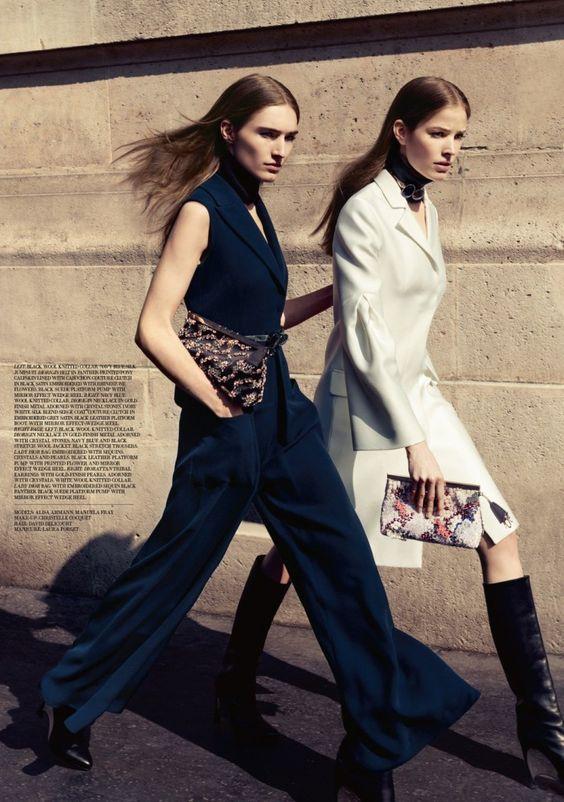 Manuela Frey, Alisa Ahmann by Claudia Knoepfel & Stefan Indlekofer for Dior Magazine #6 5