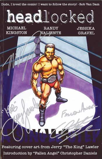 Headlocked a single step tpb painted by wwe hall of famer jerry headlocked a single step tpb painted by wwe hall of famer jerry the king lawler ccuart Image collections