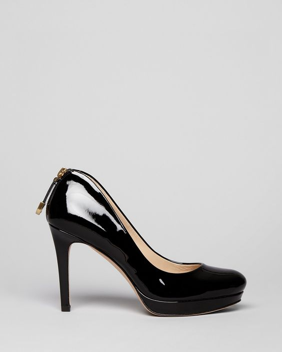 Joan & David Platform Pumps - Wilma Zipback | Bloomingdale's