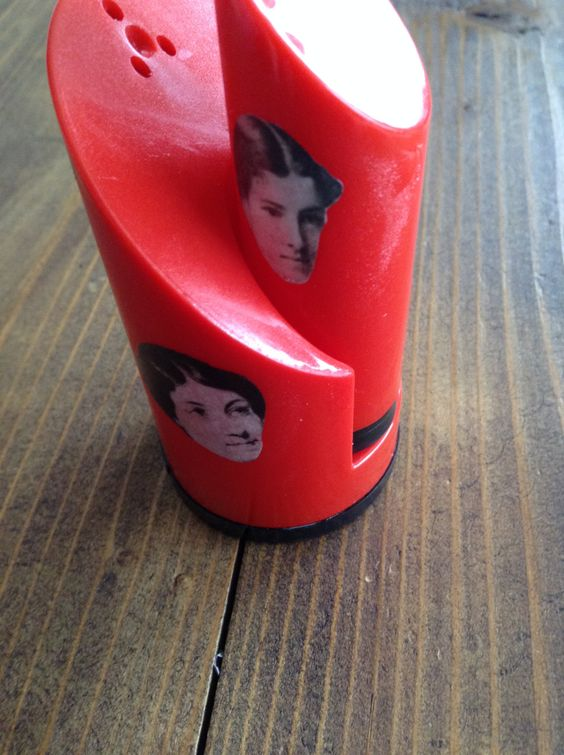 Harriet Martineau and Charlotte Perkins Gilman Salt and Pepper Shakers FREE SHIPPING by CalacaCreations on Etsy