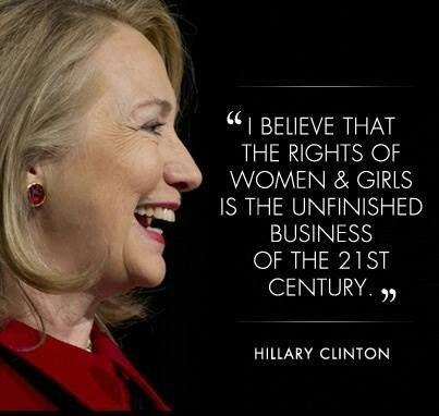 Empowering women for decades, Hillary Clinton has been a role model for all! #empower #inspiration