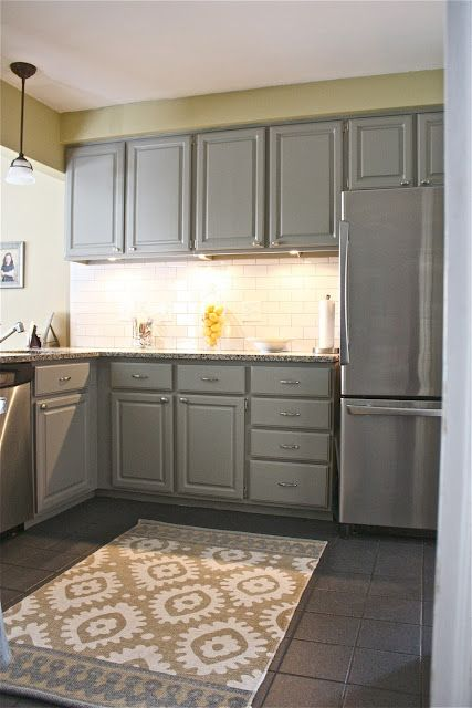 Painted cabinets The cheaper way to give your kitchen a facelift