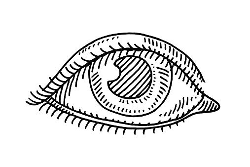 Eye Symbol Drawing