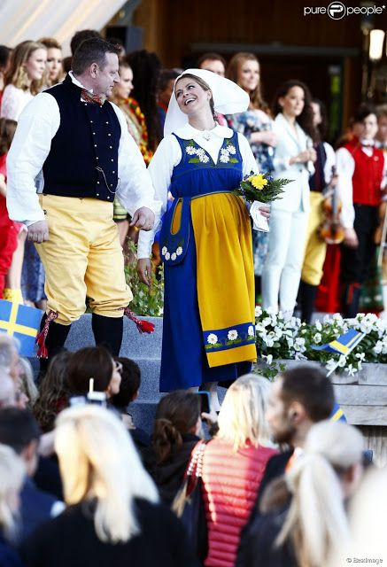 Queens & Princesses - The Royal Family celebrated Sweden's National Day with a Celebration at Skansen