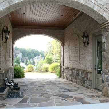 Brick And Stone Combinations Ideas 31 041 Stone And