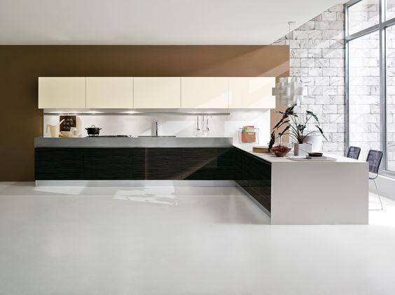cucina #cucine #kitchen #kitchens #modern #moderna #gicinque ...