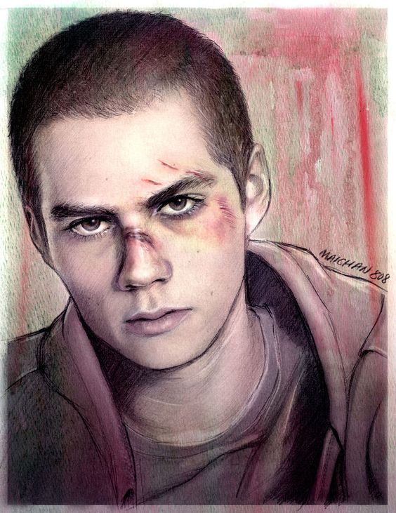 Pale Skin and Fragile Bones by *maichan-art on deviantART (Derek Hale / Stiles Stilinski, Sterek, Tyler Hoechlin, Dylan O'Brien, Teen Wolf Fanart)