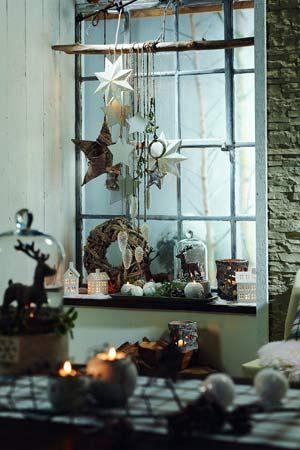 Fensterdeko advent und herbst pinterest - Weihnachtsdeko depot ...