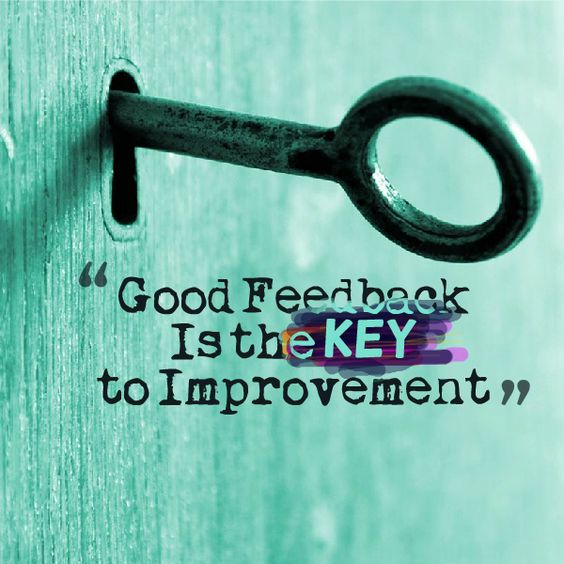 importance of taking feedback pdf