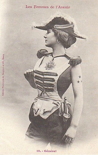 1902 version of women of the future, via Amanda Marcotte.