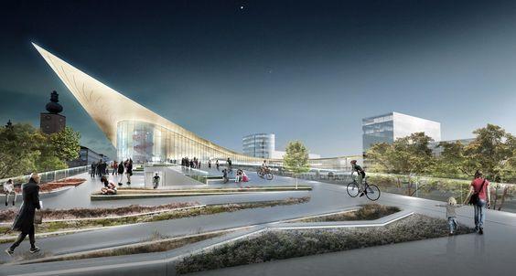 BIG rediseñará Intermodal de transporte en Suecia