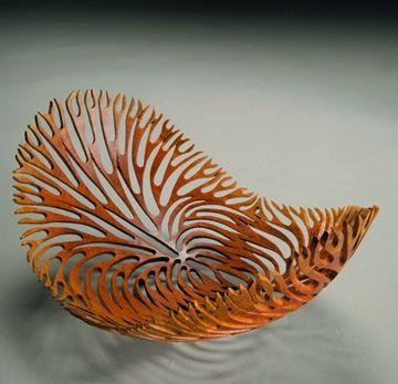 Untitled Bowl, 2005, by Neil Turner; Sheoak wood