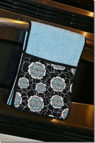 DIY Pot holder / towel Small Sewing Projects Pinterest