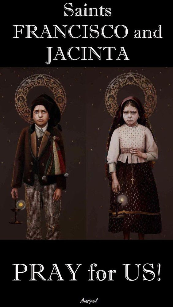 At another time, Jacinta said she saw a pope who had gathered a huge number of people together to pray to the Immaculate Heart of Mary. Jacinta and Francisco are both buried at the Our Lady of Fátima Basilica. And so we learn from little children – we learn how to be Saints! Saints Francisco and Jacina, Pray for us!......#mypic