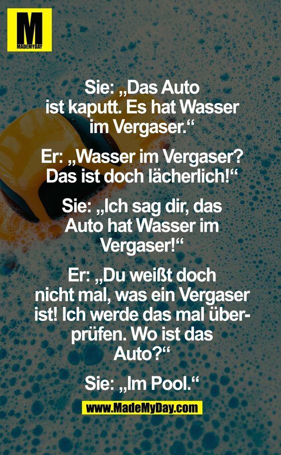 auto ;) | lustige sprüche | pinterest | autos
