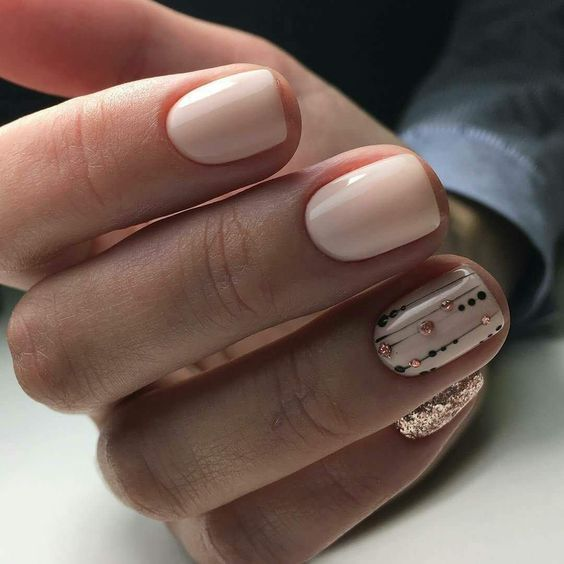 Wear Presenting Winter Nail Art That Is Pretty Straightforward And Is Excellent For All Our Expensive Girls United Nations Agency Forever Need In 2020 Fall Nail Colors Nail Colors Nails