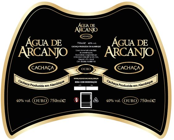 """Novo rótulo da Cachaça Ouro, leva a imagem de uma """"asa"""" - Anjo Arcanjo.  O que achou? Deixe sua opinião acessando: http://unbouncepages.com/pesquisa-produtos/"""
