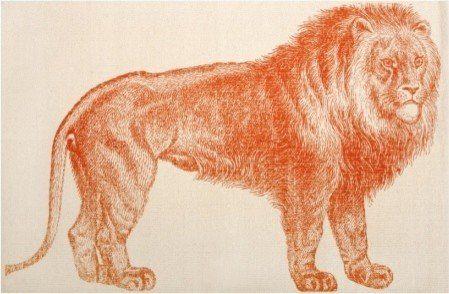 Lion Alcazar Bath Mat by Thomas Paul | House and Home
