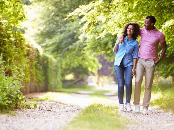 A couple walking in the countryside - Monkeybusinessimages/iStockphoto/Getty Images
