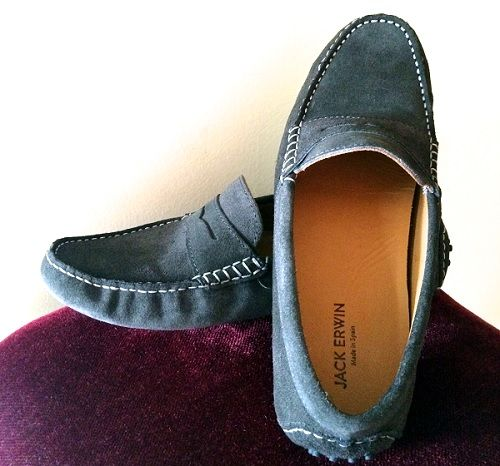 Jack Erwin Driving Loafers on Dappered.com