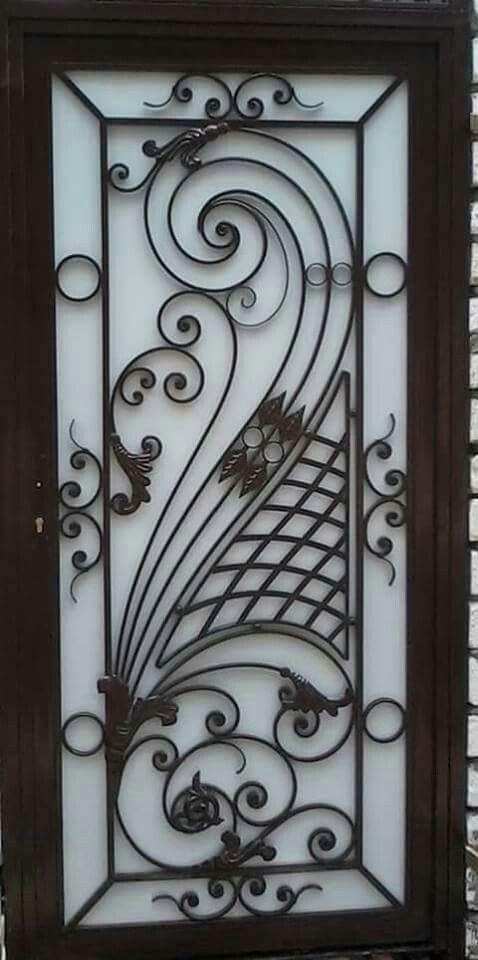 Single Door Panel Grill Door Design Metal Doors Design Steel Door Design