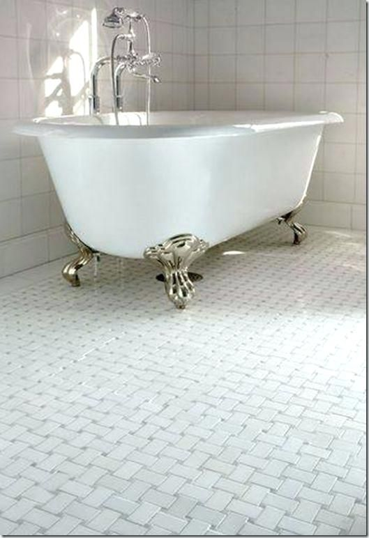 Basketweave Tile Bathroom Bathroom Tile I Like This Floor Basket